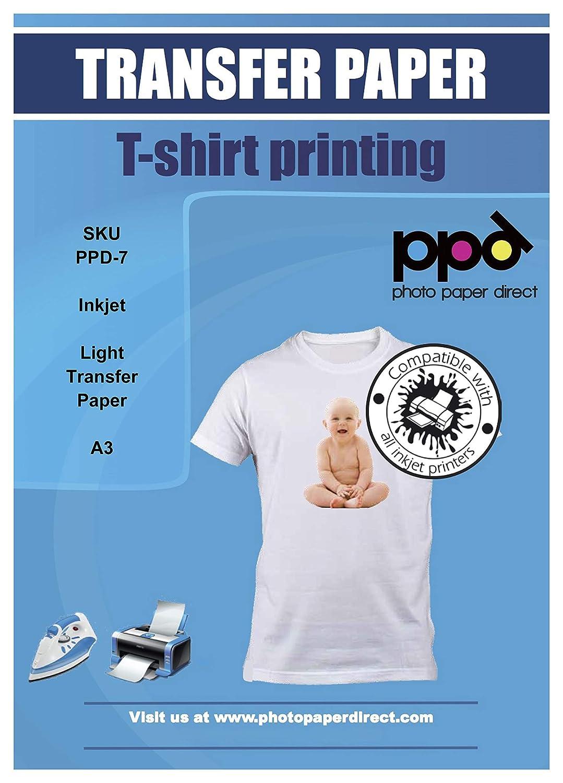 PPD - Papel de transferencia para impresoras de inyección de tinta ...