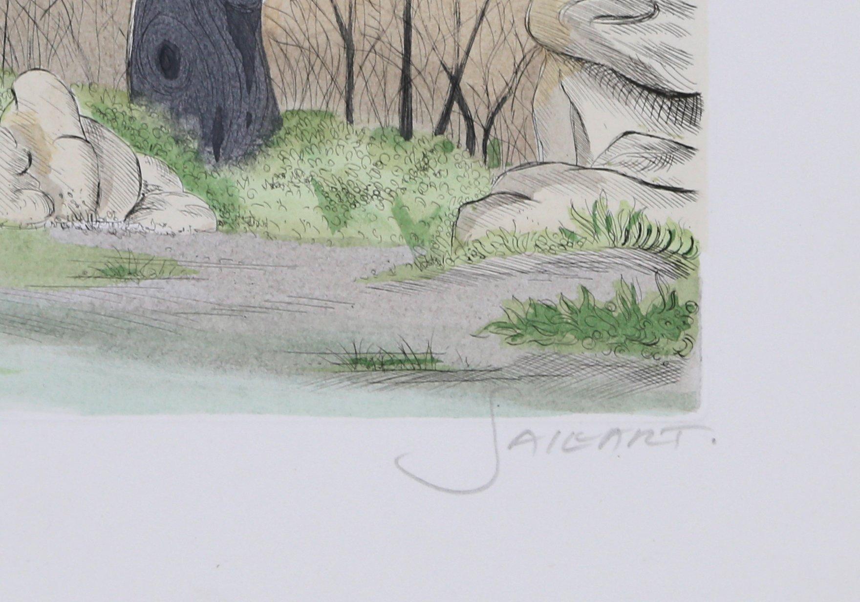 Paysage aux Arbres by