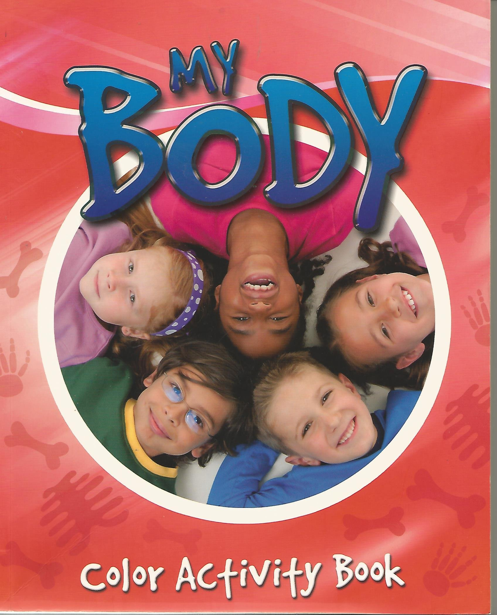 My body color activity book paperback 2010