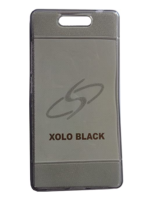 new product b77ce 2f773 SC Back Cover for Xolo Black - Light Black Transparent: Amazon.in ...