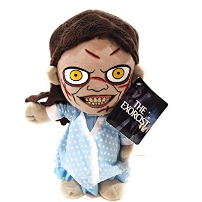 "Magic Power Ltd. The Exorcist Movie Animated Regan 12"" Possessed Moving Talking Doll Halloween Prop: Toys & Games"
