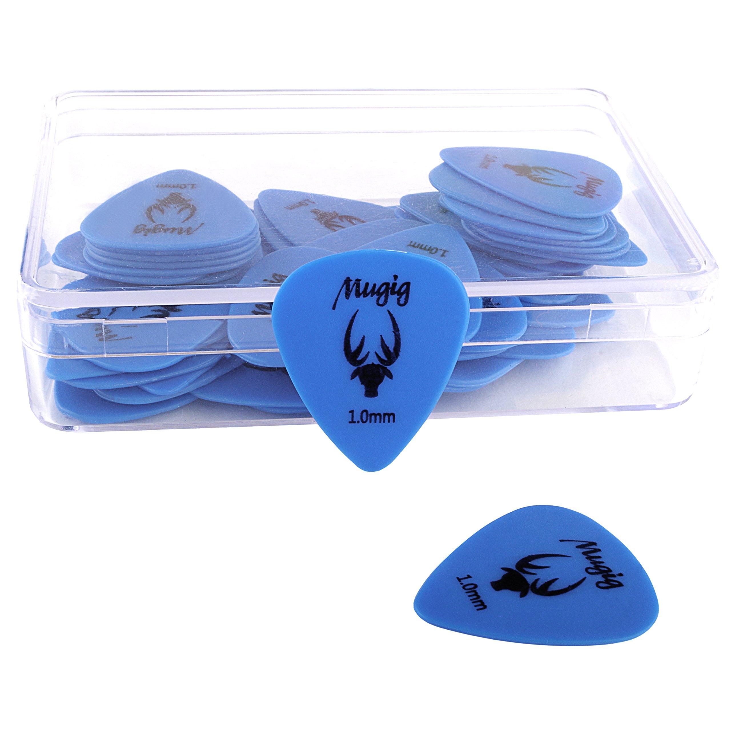 Mugig Guitar Picks Plectrums Delrin Acetal Resin (1.0mm)