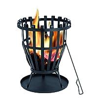 Feuerkorb Tepro Williston XXL schwarz ✔ rund