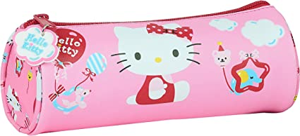 Safta- Hello Kitty Estuche Escolar, Color Rosa Claro, 200xx70 mm (M026): Amazon.es: Ropa y accesorios