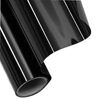 Tönungsfolie Sonnenschutzfolie Fensterfolie 95% SCHWARZ 300x50cm