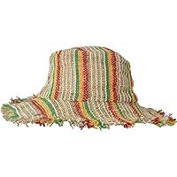 Amplia Borde Tricotado Verano crocht cáñamo Sombrero