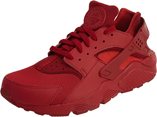 scarpe nike huarache uomo rosse