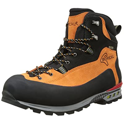 Boreal Climbing Boots Adult Brenta Lightweight 12.5 Black Orange 47260: Sports & Outdoors