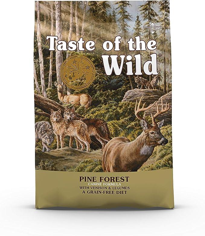 Taste Of The Wild pienso para perros con Venado asado 5,6 kg Pine Forest