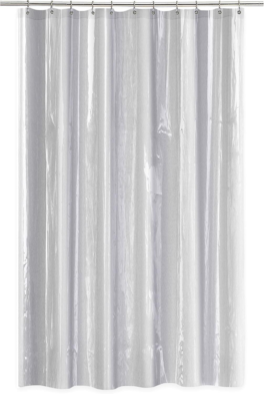 Splash Home EVA Shower Curtain Liner