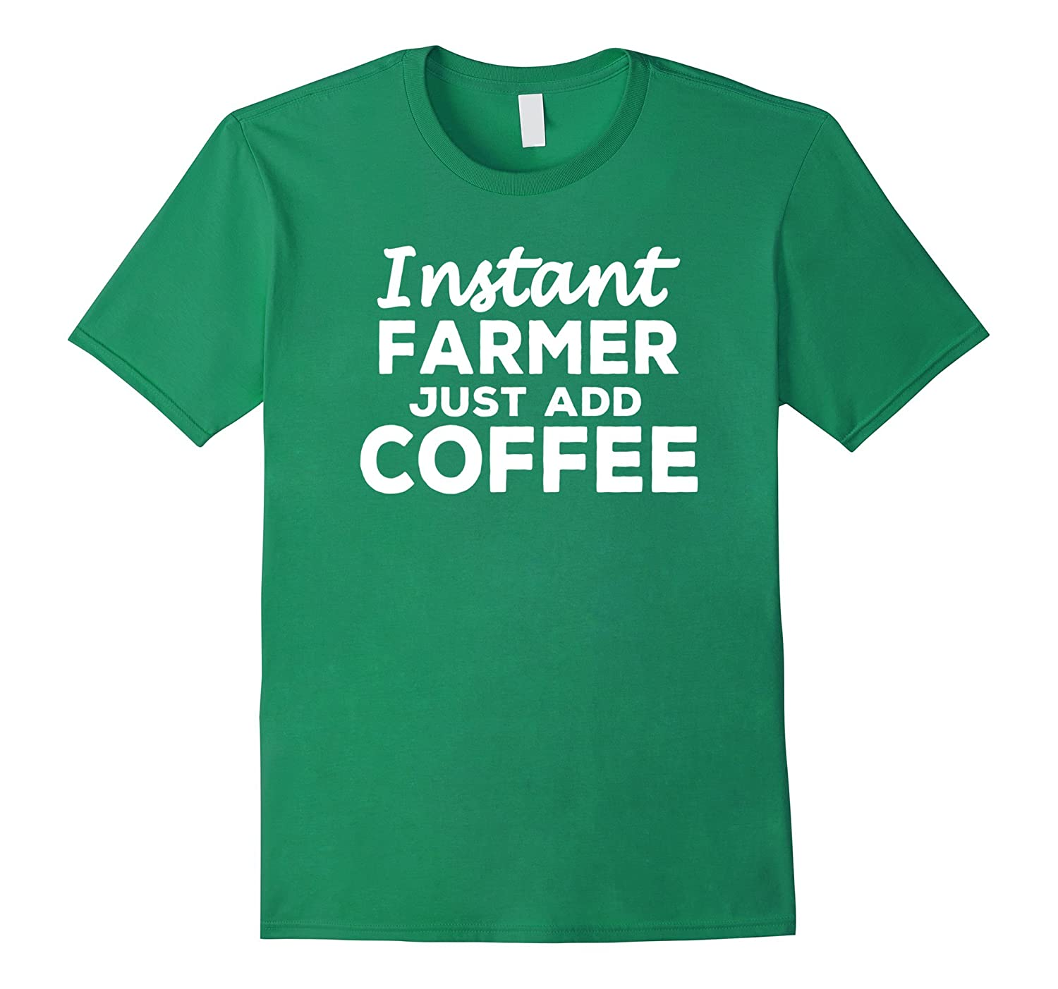 Funny Farmer T-shirt Gift for Coffee Lovers-BN