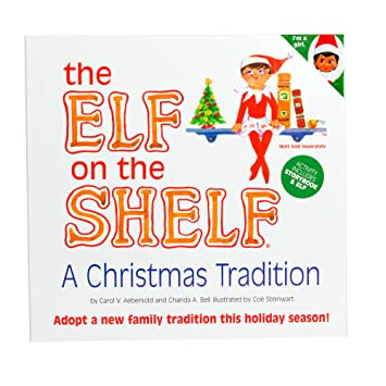 Amazon.com: Elf on the Shelf:A Christmas Tradition (brown-eyed ...