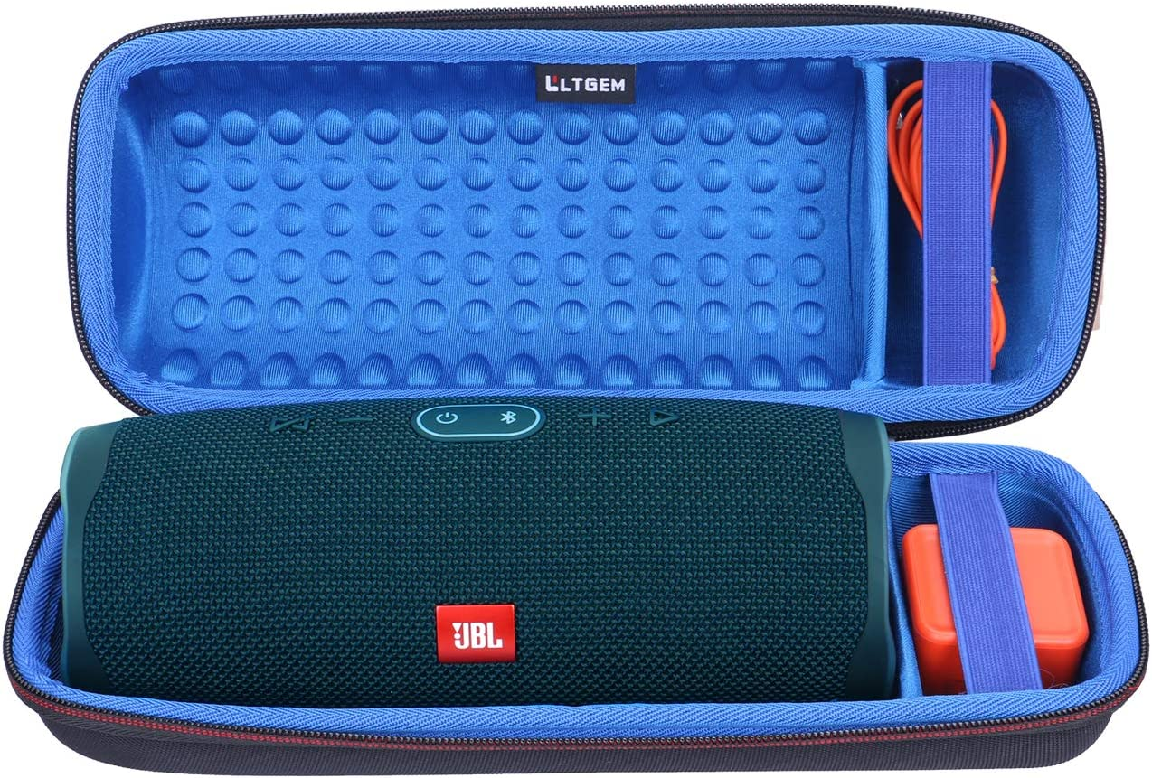 Blue Case co2crea Silicone Travel Case Replacement for JBL Charge 4 Waterproof Bluetooth Speaker