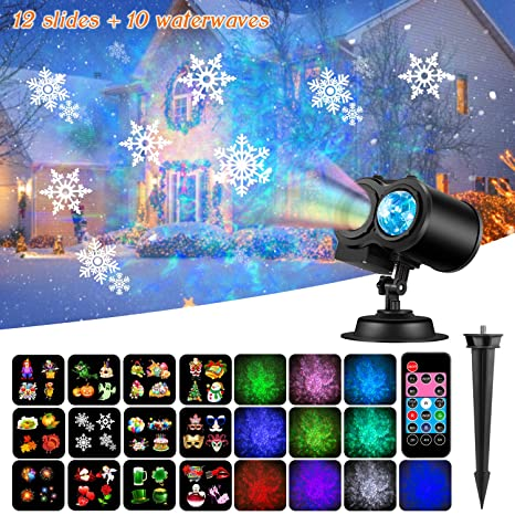 Lights & Lighting 14 Switchable Patterns Led Waterproof Laser Pointer Landscape Spotlight Lighting Decorations For Home Christmas Party Garden Commercial Lighting