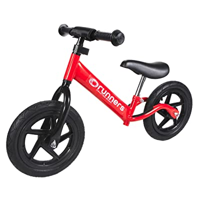 Runners-Bike Speeders 'A Series' Red Balance Bike: Toys & Games