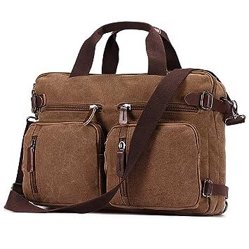 a279e6fa3bcb6 Baosha HB-22 Vintage Sac à dos en Toile Sacs à main Ordinateur Portable Mallette  Sac ...