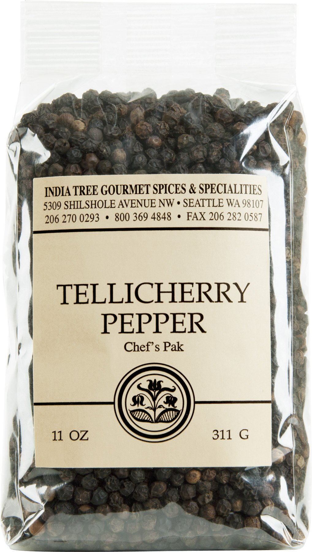 India Tree Tellicherry Pepper, 11 Ounce