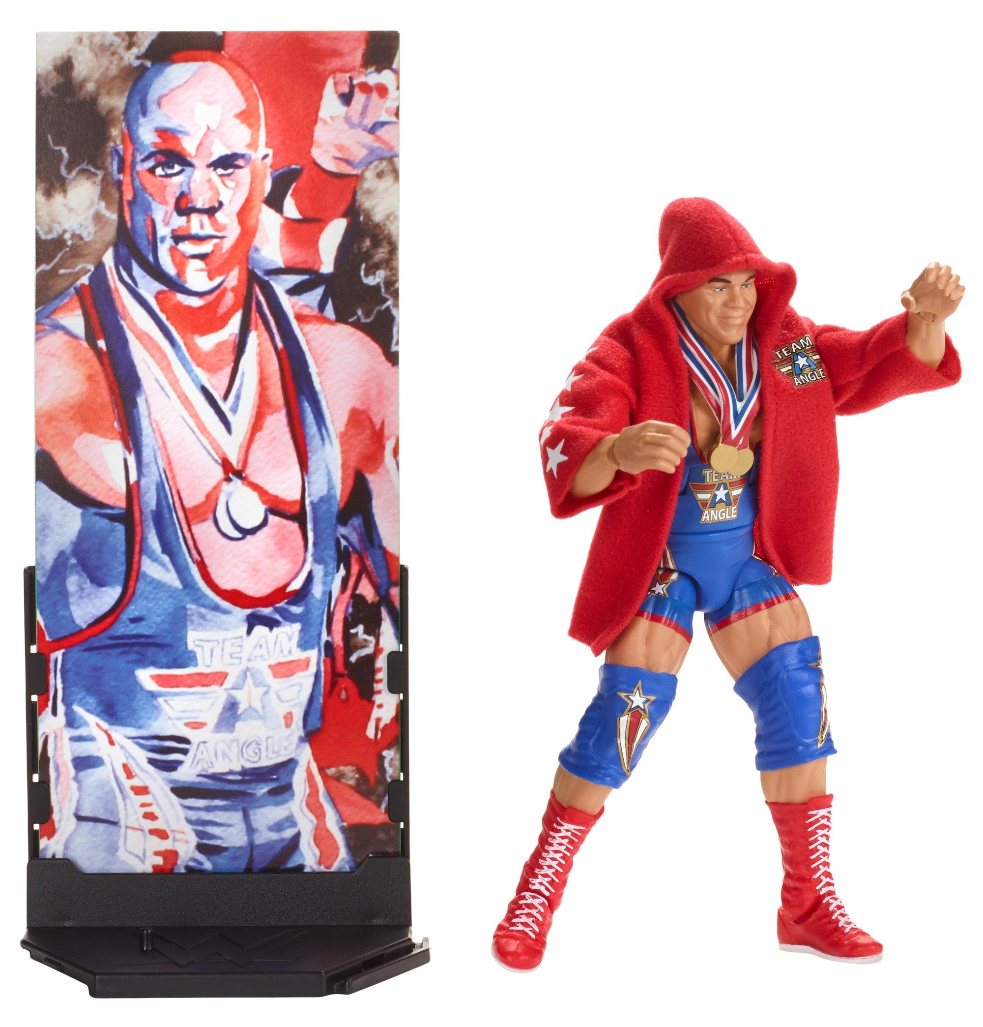 WWE Elite Fig Flashback Kurt Angle Action Figure
