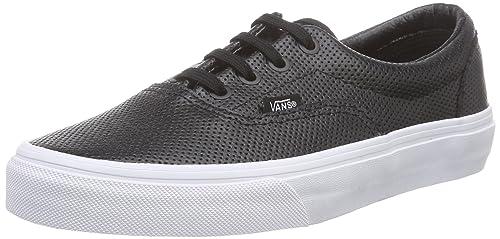 Vans U Era Perf Leather Sneakers, Unisex, Nero (Perf Leather Black),