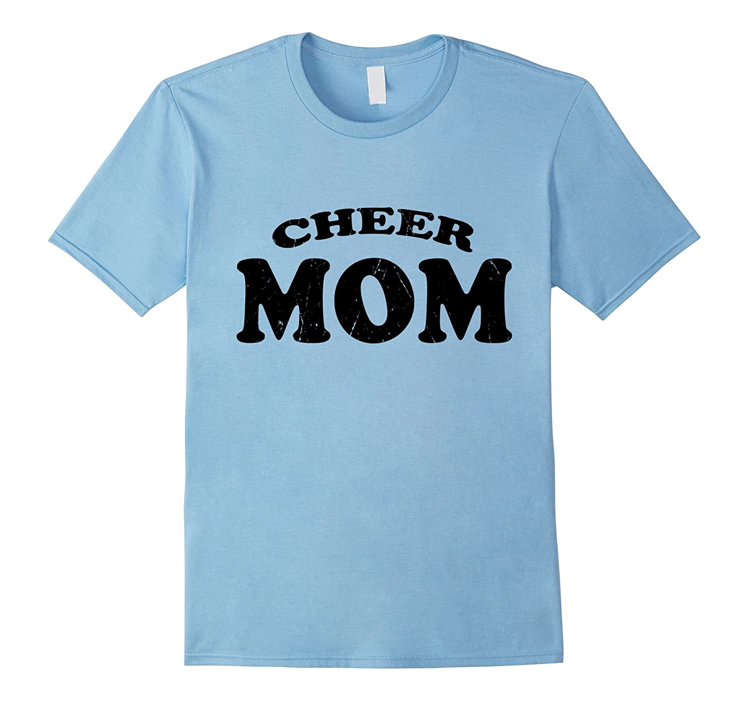 Cheer Mom Team Squad Cheerleader Mother Cute Funny T-Shirt- TPT
