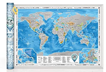 Discovery map world world map with scratch off detailed travel discovery map world world map with scratch off detailed travel content large size gumiabroncs