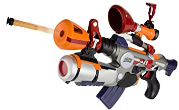 Amazon.com: Monsters vs Aliens Area 52 Foam Dart Shooter: Toys & Games
