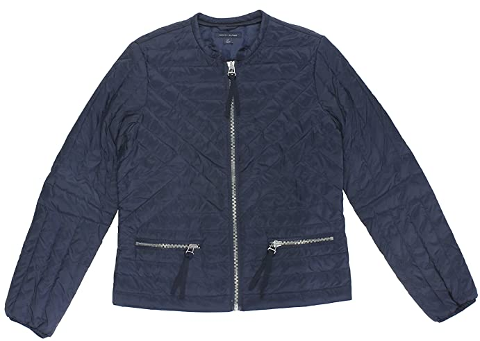 Tommy Hilfiger Womens Quilted Jacket Medium Masters Navy