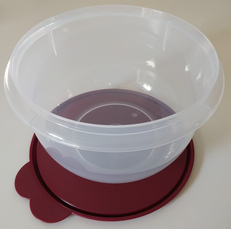 Tupperware Medium Mixing Bowl In Bordeaux Kitchen Dining