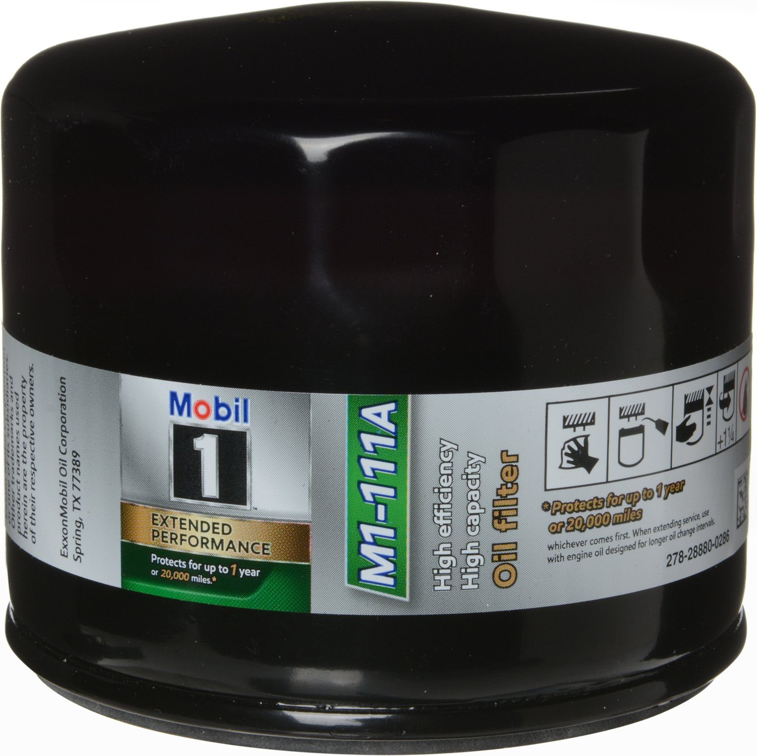 Mobil 1 M1-111A Extended Performance Oil Filter 2 Pack,