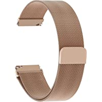 5 Colors for Watch Band, Fullmosa Quick Release Milanese Magnetic Closure Stainless Steel Watch Band/Strap for 14mm 18mm 19mm 20mm 22mm 23mm 24mm