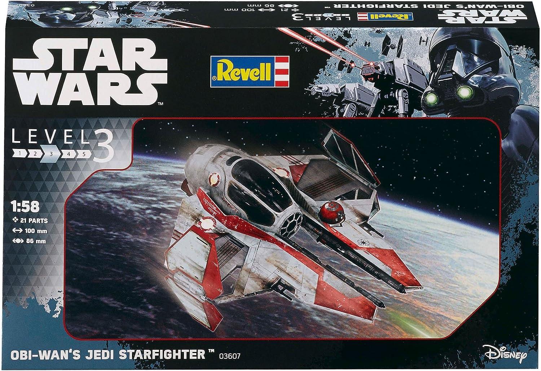 Neu Revell 03607-1//58 Star Wars Obi Wan´S Jedi Starfighter
