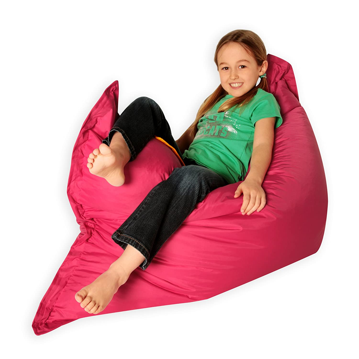 Kids BAZ BAG PINK Beanbag Chair Indoor & Outdoor Kids Bean Bags