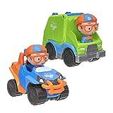 Blippi Mini Vehicle 2 Pack, Blippi Mobile and