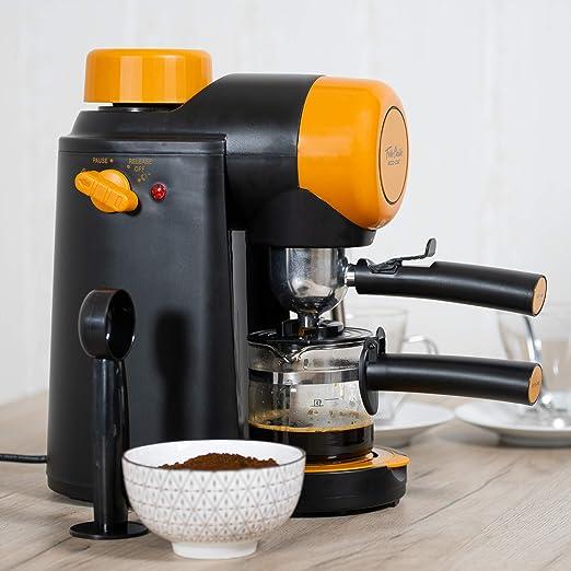 ECODE Cafetera Espresso Forte Classic, 5 Bar, Vaporizador ...