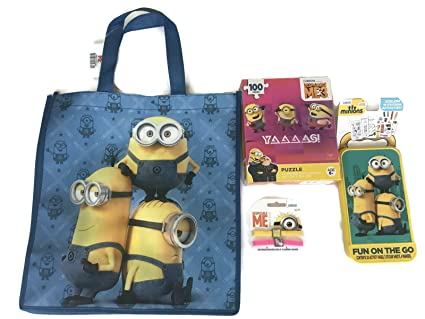 christmas stocking stuffer for kids minion despicable me 3 activity play set color and activity stickers - Minion Christmas Stocking
