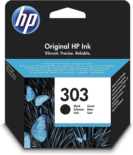 HP 303 Black T6N02AE#UUS, Cartucho de tinta original estándar ...