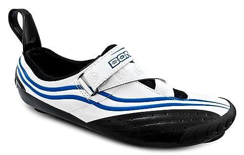Bont Sub 10 Triatlón Zapatillas de Ciclismo Blanco/Azul Talla 41: Amazon.es: Zapatos y complementos