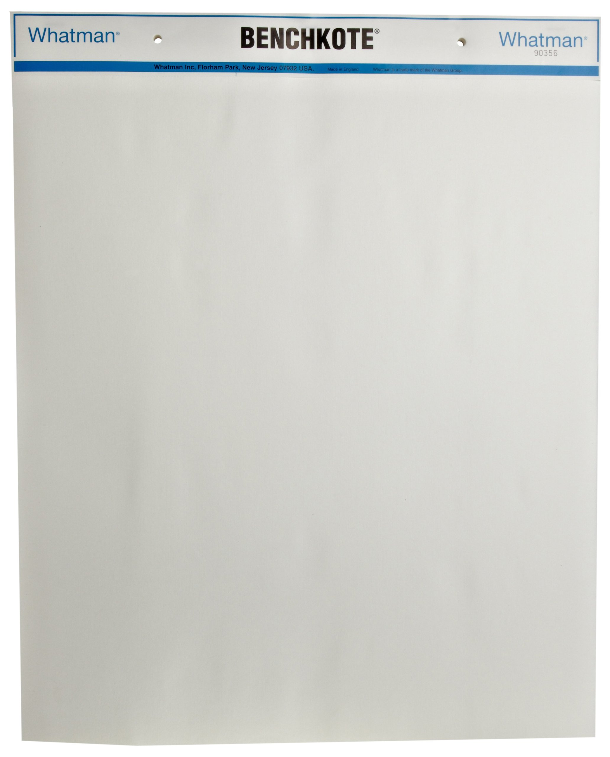 Whatman 2300-594 Benchkote Surface Protector Pad, 570mm Length x 460mm Width (Pack of 50)