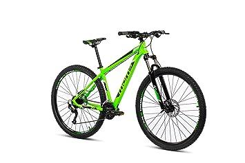 Moma Bikes Mtb29 Peak M Bicicleta de Montaña, Frenos de Disco hidraulicos, 27V, Unisex Adulto, Verde, M: Amazon.es: Hogar