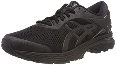 64f7cbc263fe ASICS Gel-Kayano 25, Chaussures de Running Homme, Multicolore Black 002, 39