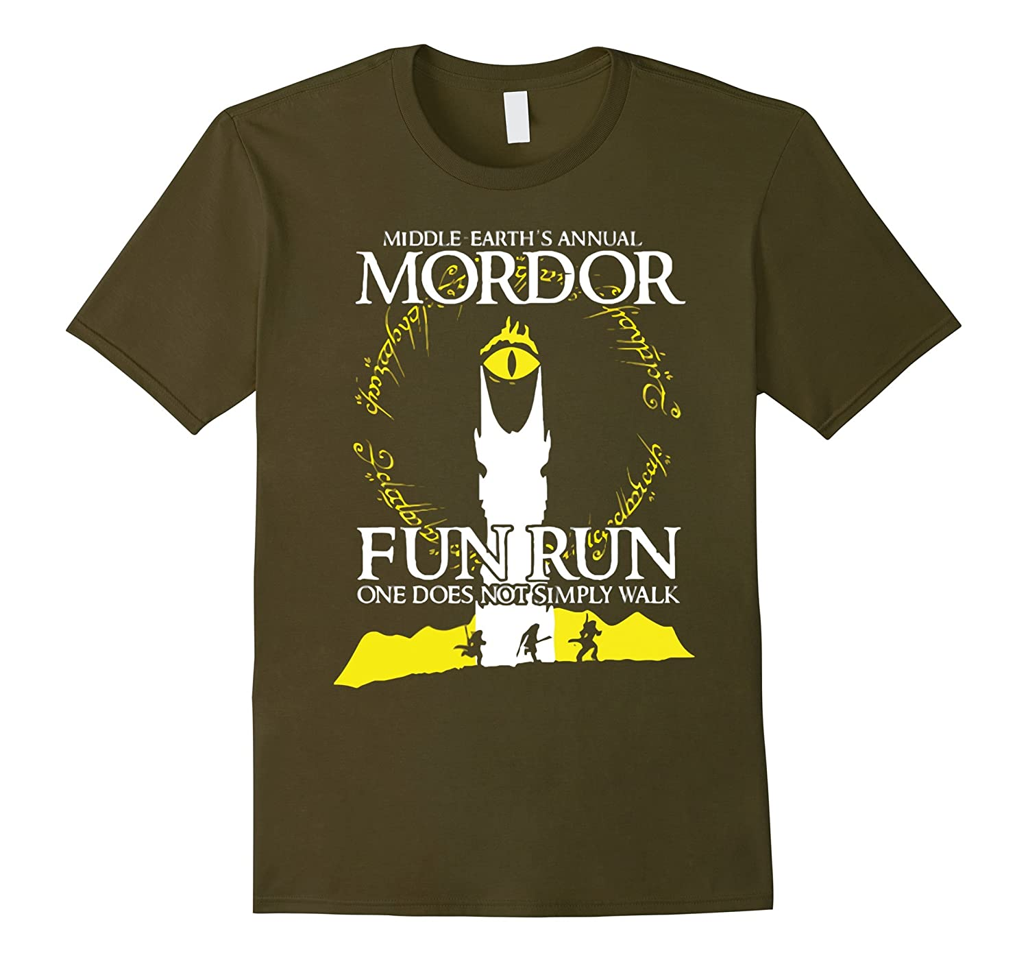 75c99f0bb Middle Earths Annual Mordor Fun Run One Does Not Simply Wal-RT ...
