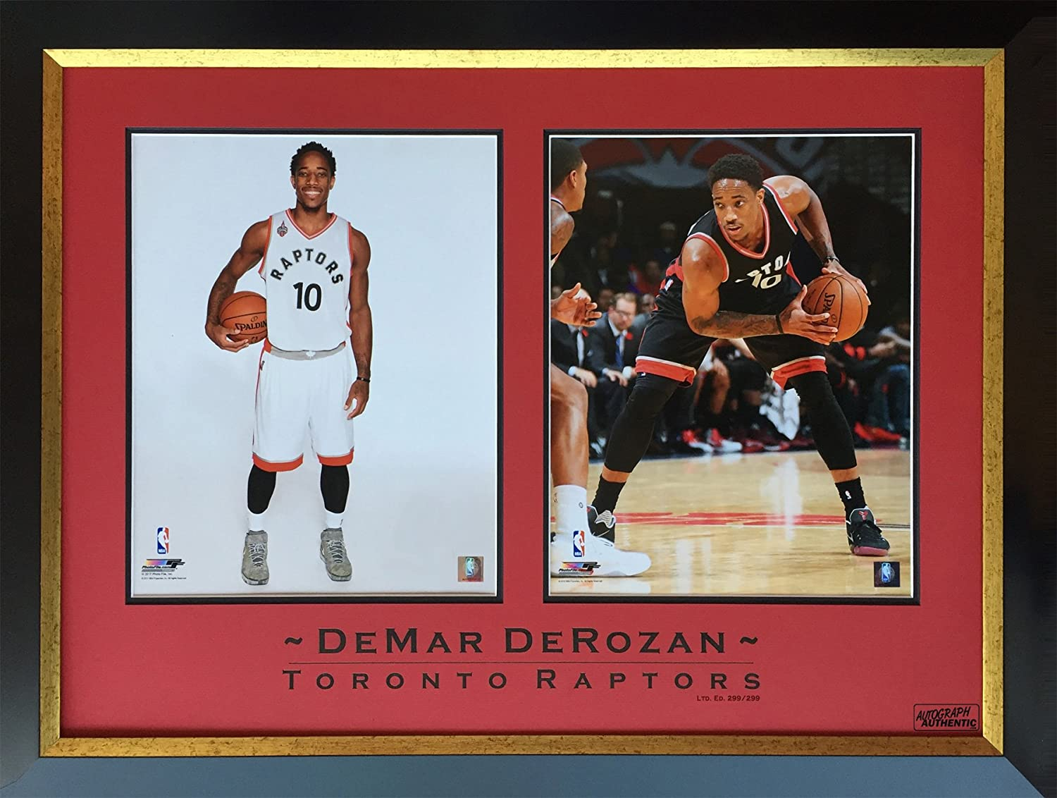 DeMar DeRozan Limited Edition 299 of 299 Framed Photos - Toronto Raptors at Amazon s  Sports Collectibles Store 76498a9d3
