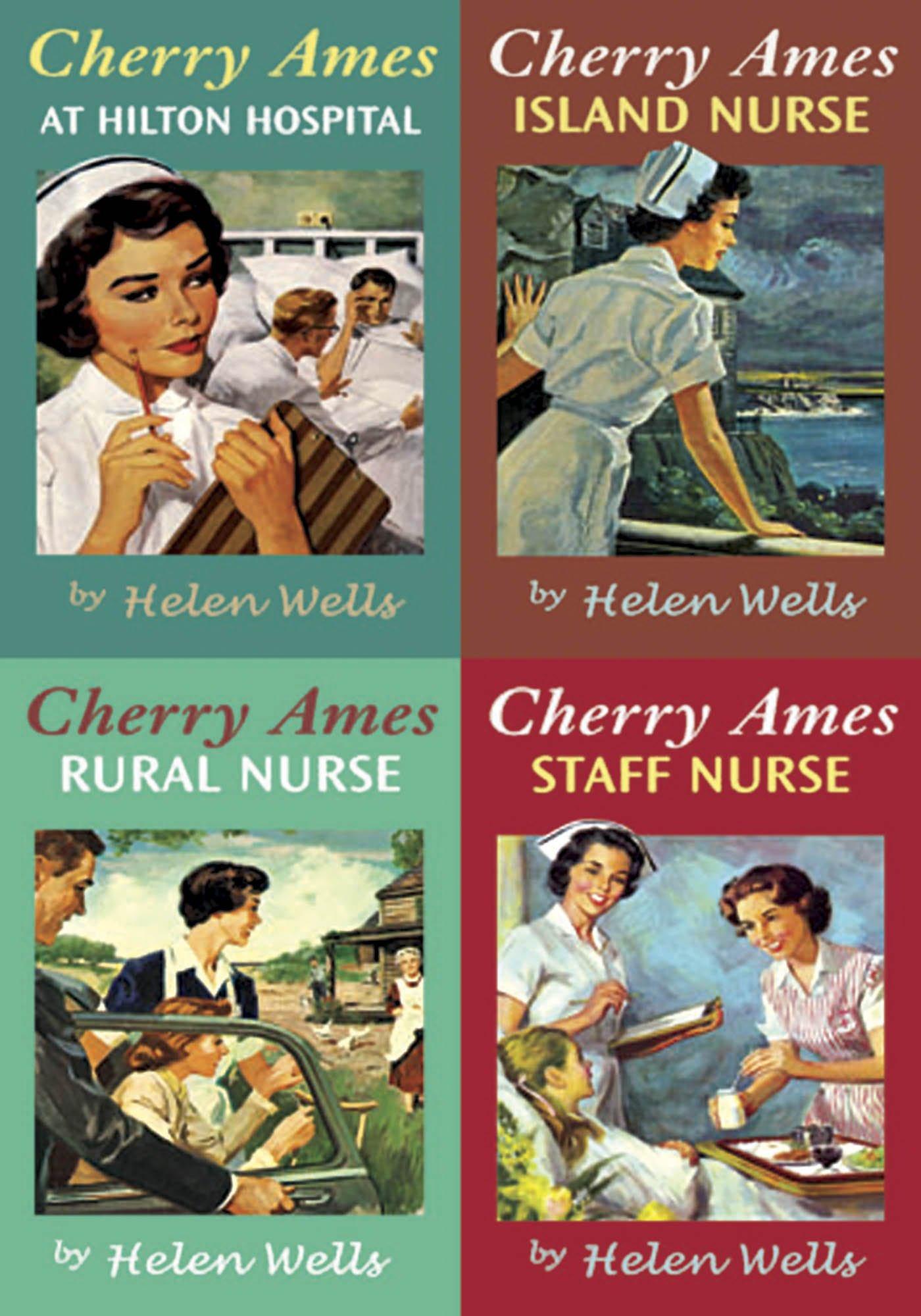Cherry Ames: Box Set (Books 13-16) At Hilton Hospital, Island Nurse, Rural Nurse and Staff Nurse by Springer Publishing Company