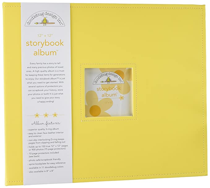 Amazon Doodlebug Design Bumblebee Storybook Albums 12 By 12 Inch