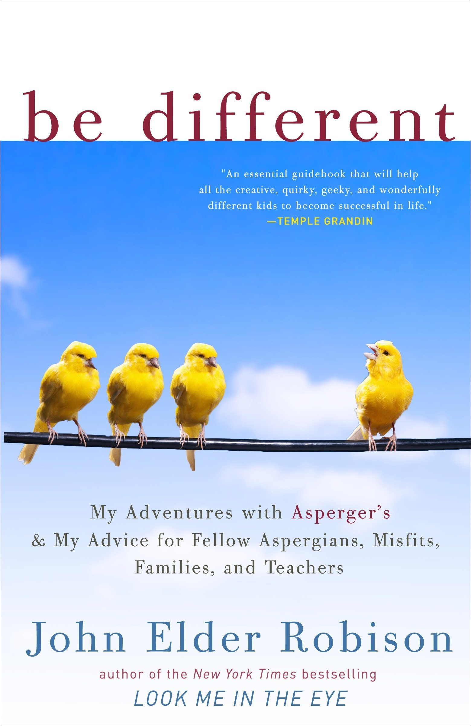 Be Different My Adventures with Asperger s and My Advice for Fellow