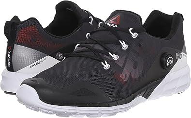 fb8c87b68f919 Reebok Men's Zpump Fusion 2.0 Coal/Black/Alloy/White/Atomic Red 12.5 ...