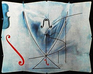 Black Creations La Cola de Golondrina Salvador Dali (The Swallows Tail) Póster Lienzo Cuadro