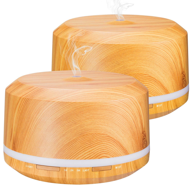 humidificador de aromaterapia con luz