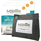 MOSO NATURAL: The Original Air Purifying Bag. 600g Stand Up Design (3 Pack). for Kitchen, Basement, Family Room. an Unscented