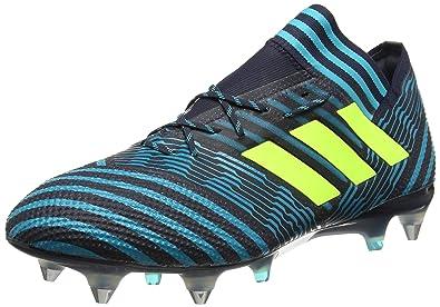 Adidas Nemeziz 17.1 SG, Botas de Fútbol para Hombre, Azul (Tinley/Amasol/Azuene), 41 1/3 EU